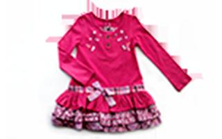 Платье детское трикотажное